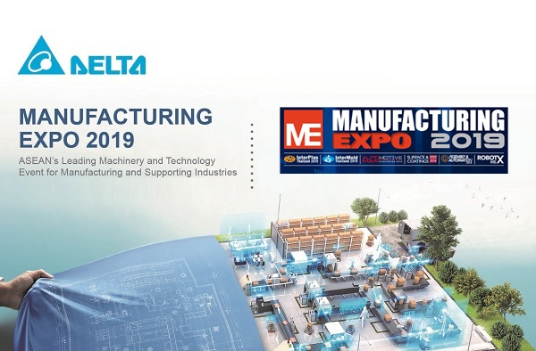 Delta in Manufacturing Expo 2019