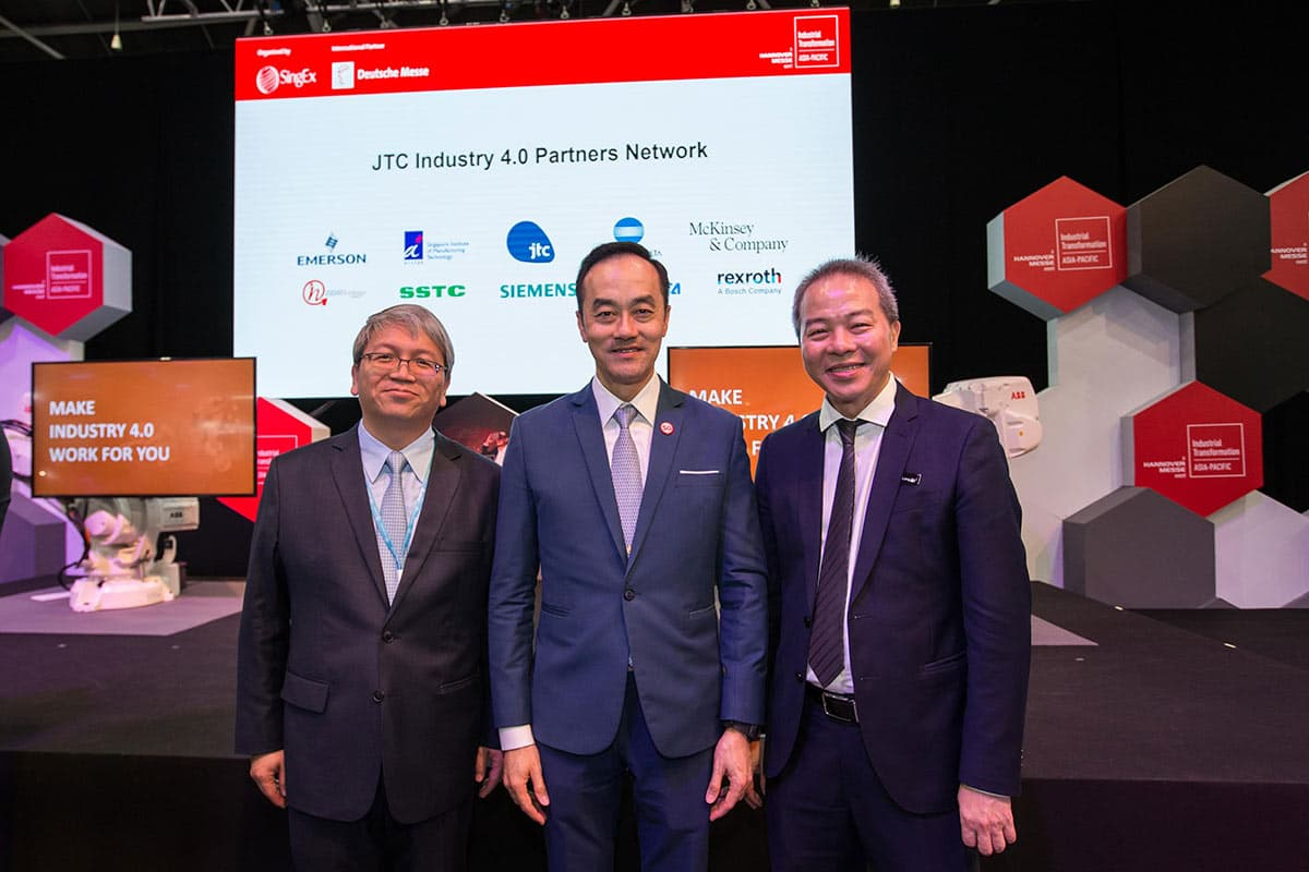 Delta Electronics and JTC Corporation Sign MOU for Smart Manufacturing Development and Training in Singapore