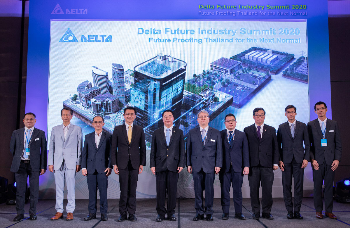 Delta Future Industry Summit 2020 - Future Proofing Thailand for the Next Normal