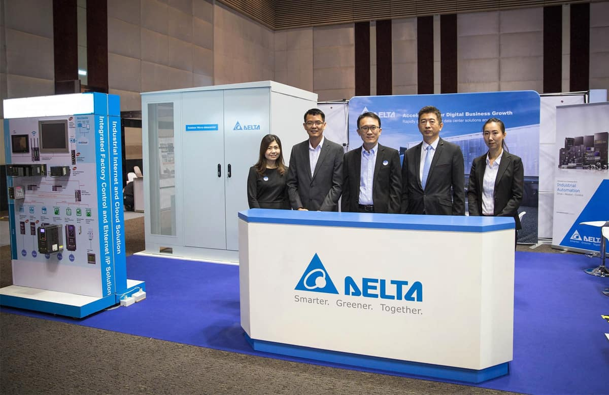 Delta Showcases Industrial Automation Solutions at Internati